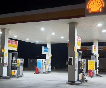 Benzin İstasyonu Led Aydınlatma Projesi