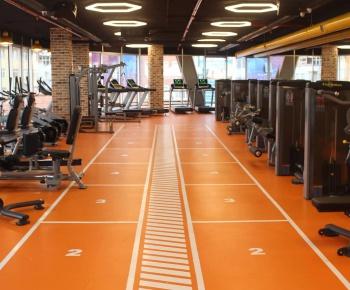 Spor Salonu ve Koridor Led Sarkıt Aydınlatma