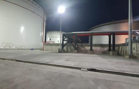 Petrol Tesisi Exproof Led Projektör Aydınlatma Projesi