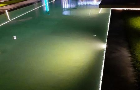 Havuz Aydınlatma Projesi