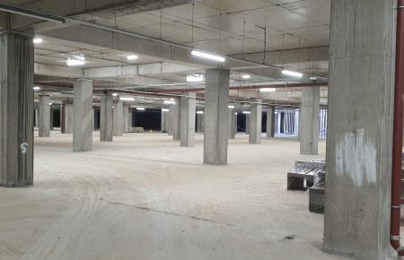 Belediye Binası Kapalı Otopark Led Aydınlatma Projesi