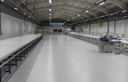 Tekstil Fabrikası 1000 Lüx Işık Uygulaması
