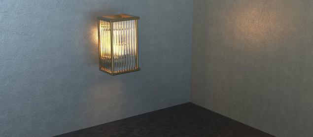 Kafes Dekoratif Led Aplik 2