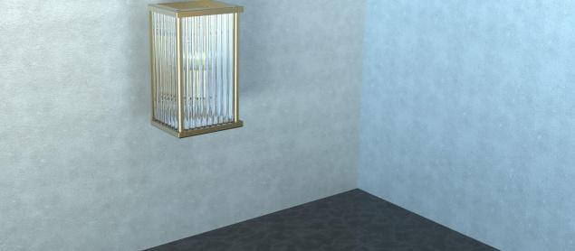 Kafes Dekoratif Led Aplik 3